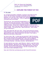 The Divine We — Explore the Forest of You
