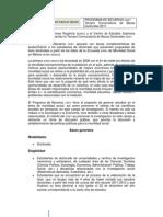III Convocatoria Becas Doctorales CEEY 2011