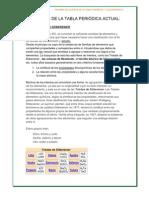 Tabla Periodica de Quimica - Grupal