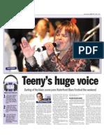 Teeny's huge voice
