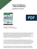 Artigo Engenharia de Software - Introdução a Teste de Software