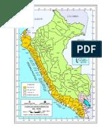 Base Cartográfica de límites de cuencas levantada a partir de las hojas 1