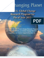 US Global Change Research Program 2011