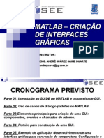 Criação de Interface Grafica - GUIDE