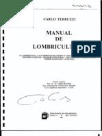 Libro - C. Ferruzi - Manual de Lombricultura