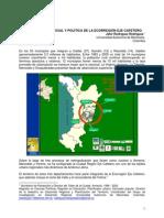 LA CONSTRUCCIÓN SOCIAL Y POLITICA DE LA ECORREGIÓN EJE CAFETERO. Jahir Rodriguez R