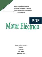 Trabajo de Motor Electrico