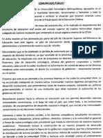 FEUTEM Comunicado001