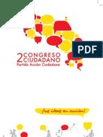 Convocatoria al Congreso Ciudadano