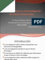 Conflictos éticos en la Investigación de Células Estaminales