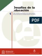 Pozner_M1_Desafíos de la educación