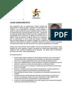 Proyecto de gestión del Decanato - Juan Gargurevich