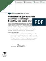 Sybase sOracle SO23269 InDBAnalytics eBook 11.6