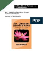A Taoshobuddha Classic Release on Amazon