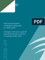 ACCC Telecom Market Share 2008-2009