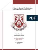 A Review of Energy Storage Technologies
