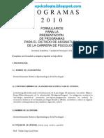 Programa de Desenvolvimiento Histórico Epistemológico de la Psicología I (D.H.E.P. I)
