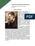 Rudolf Steiner - Mistero e personalità di Christian Rosenkreuz