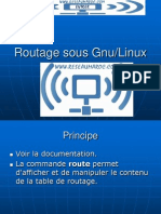 Routage Linux