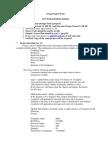 Java Examination Project