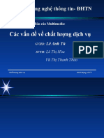 báo cáo multimedia