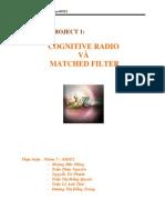 Bao Cao Cognitive Radio Va Matched Filter