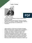 Aportes a La psicologia Santo Tomas de Aquino