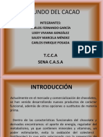 Mundo Del Chocolate CASA