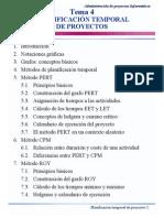 PLANIFICACIÓN TEMPORAL DE PROYECTOS