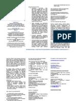 ICBMS2011 Brochure