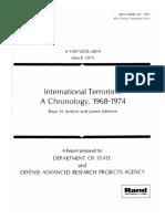 International Terrorism. 1968-1974
