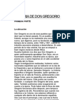 Historia de Don Gregorio - Robin Santana