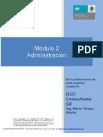Modulo 2 Administración