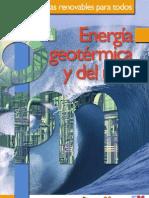 Cuadernos Energias Renovables Para Todos Energia Geotermica y Del Mar