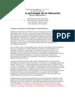 21644905 Psicologia Social de La Liberacion Baro