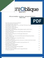 Rassegna stampa Oblique aprile2011
