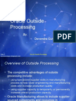Outside Processing