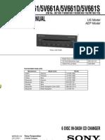 CDX-5V661,5V661A,5V661D,5V661S