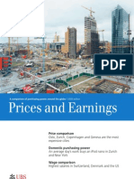 Edition 2009 (Prices and Earnings Has Been Published Every 3 Years)