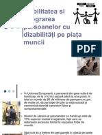 Mobilitatea si integrarea persoanelor cu dizabilităţi pe