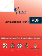 SINGAPORE CPG - Blood Transfusion Final