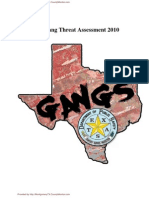Texas Gang Threat Assement 2010