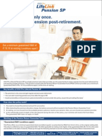 Life Link Pension SP Leaflet