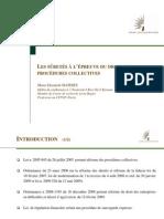 11 02 16 Les Suretes a l Epreuve Des Procedures Collectives