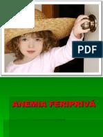 ANEMIA FERIPRIVĂ