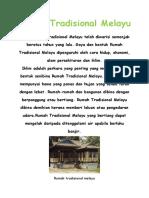 Rumah Tradisional Melayu