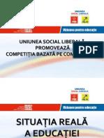 Viziunea Uniunii Social Liberale Pentru Educatie