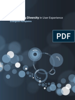 Quantifying Diversity in User Experience