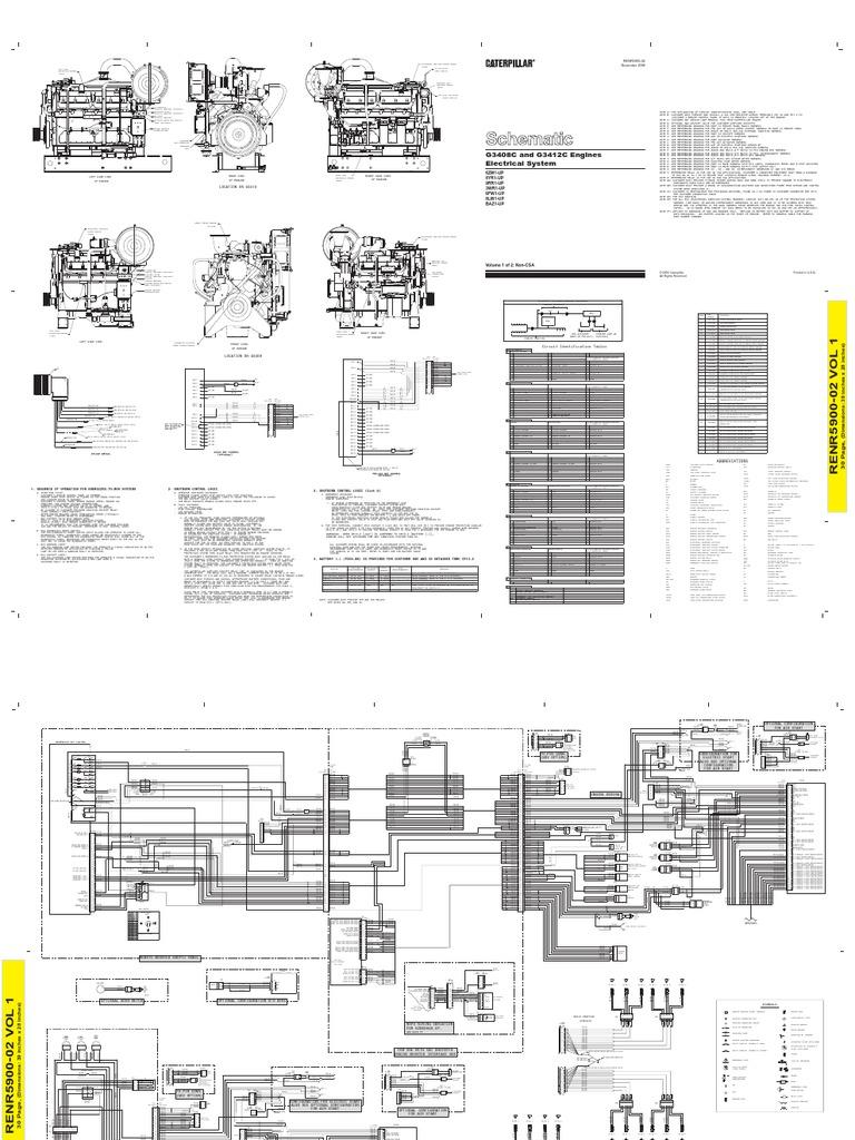 caterpillar generator 3412 wiring diagram - wiring diagram, Wiring diagram