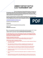 Microsoft Word - Warhammer Fantasy Battle Doubles Tournament House Rules v1.5 2007